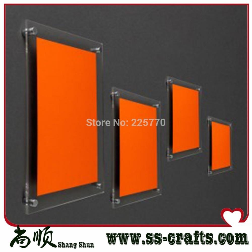 Popular Wall Mounted Acrylic Photo Frames Buy Cheap Wall