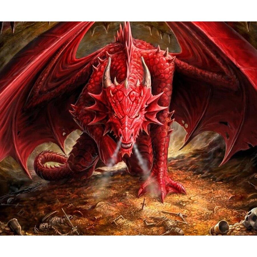 Diamond Dragon Painting