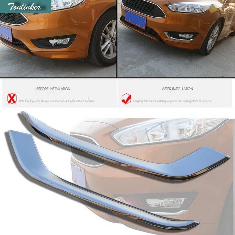 ⑦Tonlinker 2 шт. DIY автомобиля Стайлинг ABS Chrome ...