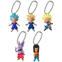 Dragon Ball SUPER Figure Gashapon UDM BURST 23~SS God Vegetto,Gogeta,Champa,Android 17~Ultimate Deformed Mascot Toy 100%Original