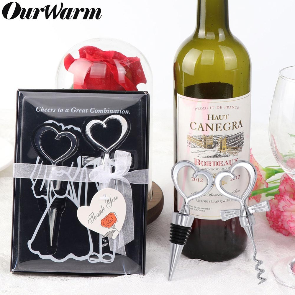 Wine Wedding Gifts: OurWarm Wedding Souvenirs Stainless Steel Beer Wine Bottle
