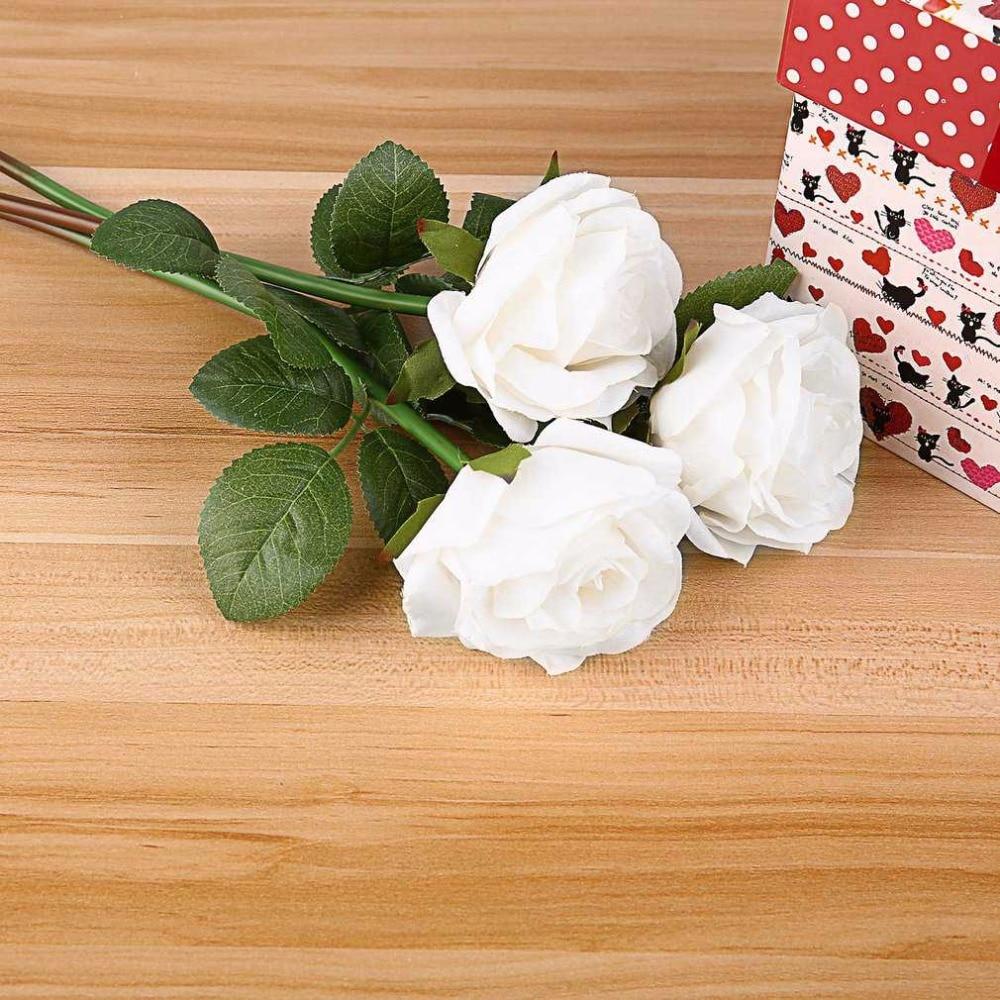 Nigeria Buy Generic 15pcs Rose Artificial Flowers Silk Flowers