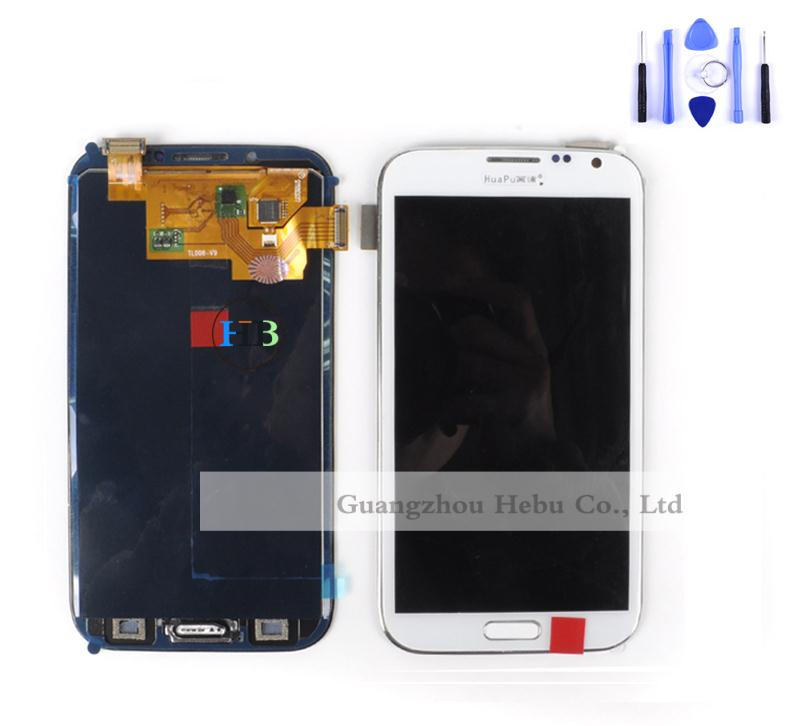 ФОТО Brand New N7100 LCD 100% Tested Working ! For Samsung Galaxy Note 2 N7100 LCD Display Touch Screen Digitizer Free Shipping