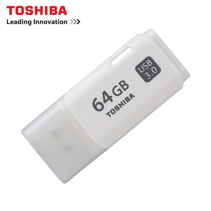 TOSHIBA U301 USB3.0 Flash Drive 128GB 64GB 32GB Pen Drive Pendrive Waterproof Plastic White U Disk Memoria Cel USB Stick Gift