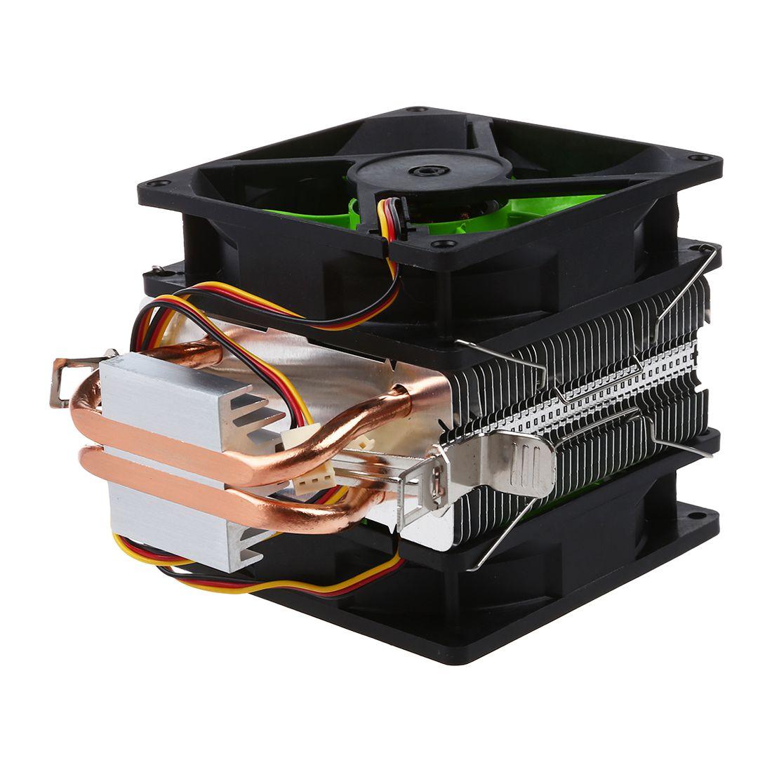 2200RPM Fan CPU Cooling Cooler Heatsink For Intel LGA775//1156//1155 AMD AM2//AM3 A