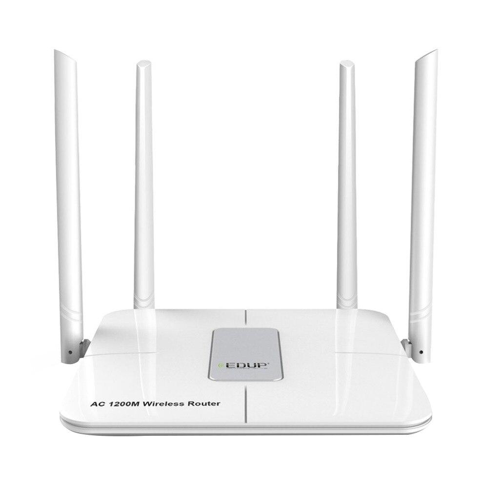 Routeur Wifi EDUP 5 Ghz 1200 Mbps répéteur Wifi sans fil Wlan 802.11Ac extension de gamme Wifi antenne 4 x 5Dbi amplificateur Wifi ue Plu