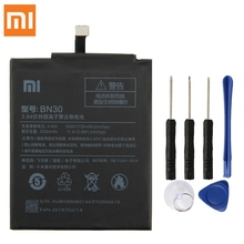 Xiao Mi Original Replacement Battery BN30 For Xiaomi Redrice Hongmi 4A Authentic Phone 3120mAh