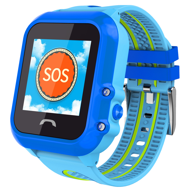 DF27 Kids GPS Smart Watch Swim Waterproof SOS SIM Card Call Location Device Tracker Baby for childen LBS in Smart Watches from Consumer Electronics