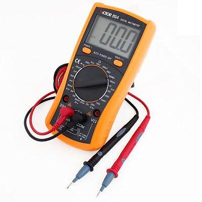Resistance Capacitance Voltage Current Test Meter Digital Multimeter