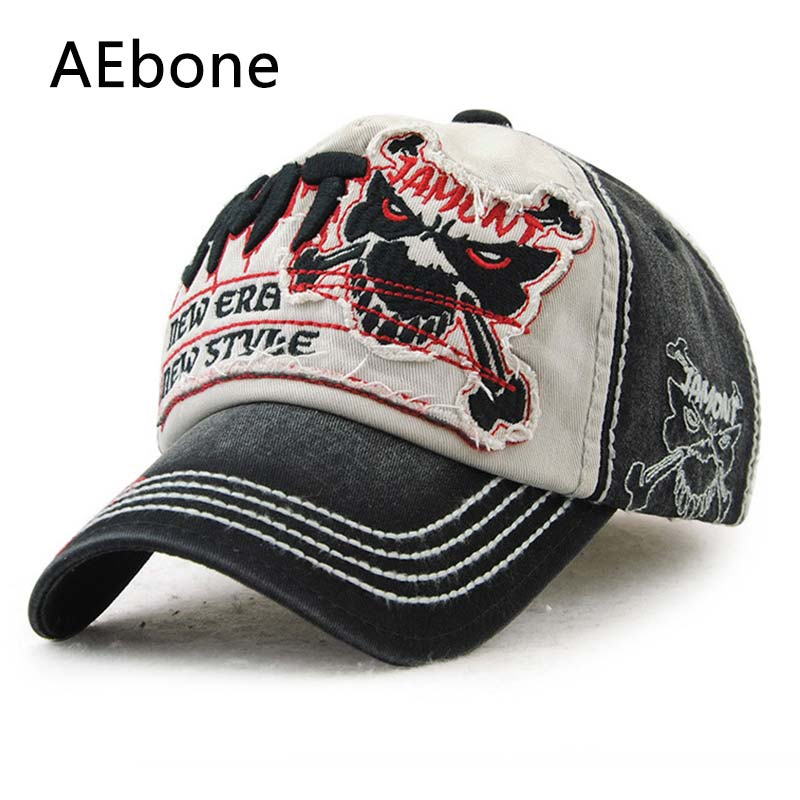 AEbone New Style Baseball Cap Snapback Skeleton Hats Bone Snap Back Gorras Men Hip Hop Cap For Women Sun Hat AE8028