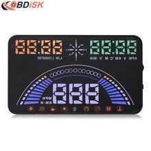 S7 HUD 5.8 «большой Экран Дисплей Расчесывать БД и GPS Двух Систем Неисправности Сигнализации Динамическая Скорость Превышение скорости Предупреждение