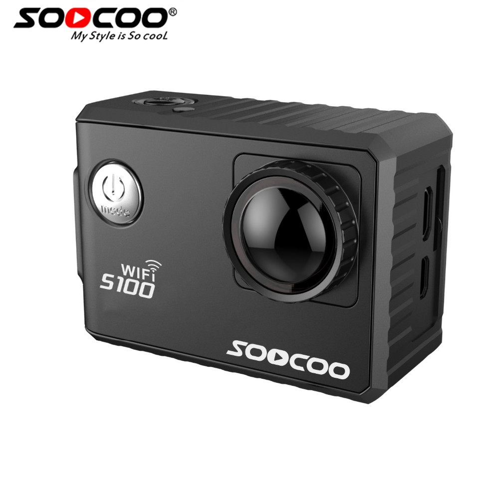 SOOCOO S100 4K Sport Camera 4K Wifi Built in Gyro with GPS Extension GPS Model not
