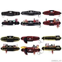 Электрик дрель сумка для инструментов поясной карман сумка ремень держатель для хранения комплект обслуживания