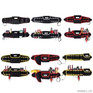Electrician Drill Tool Bag Waist Pocket Pouch Belt Storage Holder Maintenance Kit