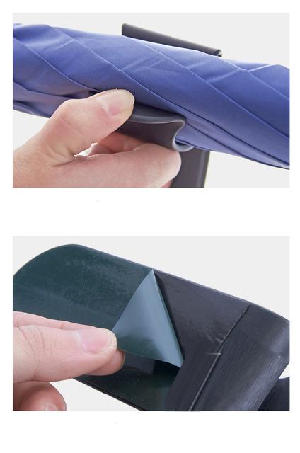 CHIZIYO Multifunction Self-adhesive Home Car Umbrella Hook Multi Holder Hanger Auto Seat Clip Fastener Rack Umbrella Organizer