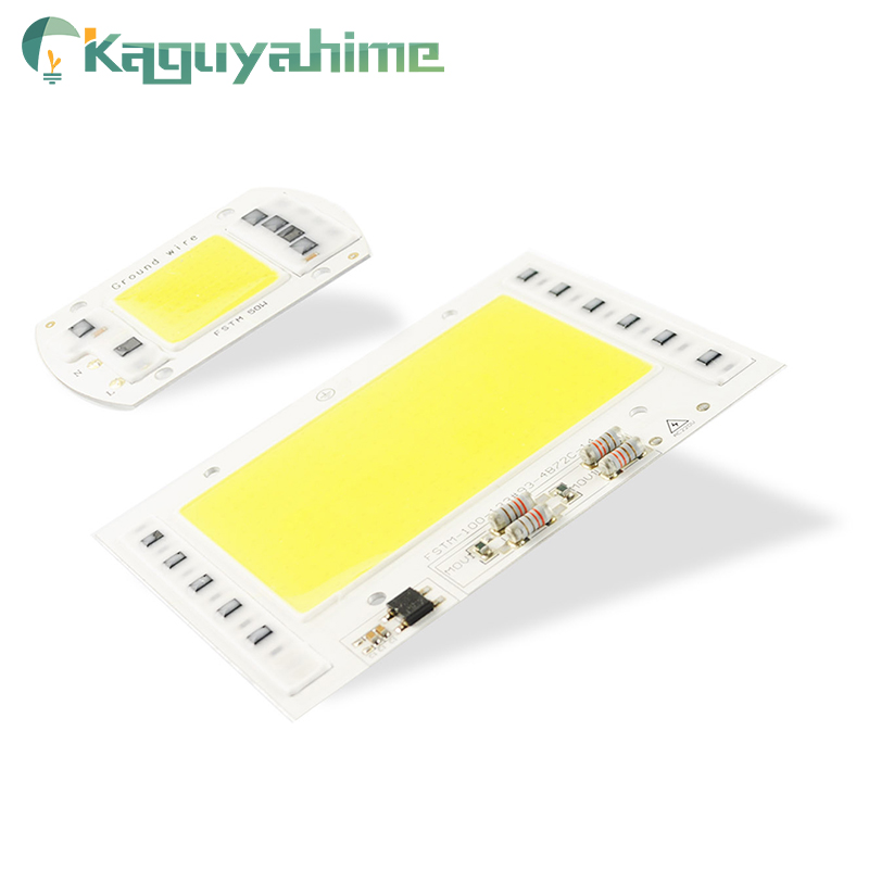 Kaguyahime Growth/White Integrated COB LED Lamp Chip AC 220V 5W~100W 30W 20W 10W Smart IC Driver For DIY Floodlight Spotlight