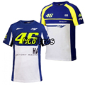 Hot Sale! Valentino Rossi VR46 M1 Factory Racing Team Moto GP T-shirt