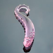 30mm Pink Pyrex glass dildo artificial penis crystal fake anal plug prostate massager masturbate Sex toy for adult gay women men