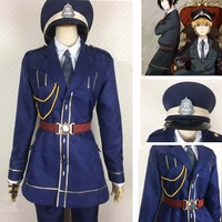 Anime Naruto Sasuke Uchiha naval uniform Cosplay Naruto Uzumaki Costumes Custom Made