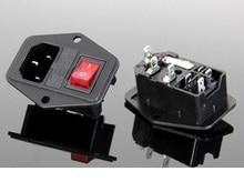 3 шт. разъем питания переключатель с подсветкой и гнездо предохранителя 15A 250 В AC-01 Бесплатная доставка