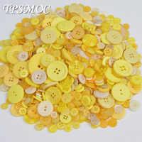 TPSMOC 50g boutons de couture en résine mélangée Bouton de Scrapbooking vêtement bricolage accessoires de vêtement outil de tricotage à la main