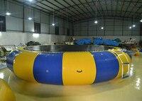 Bunte 4 5*4 5*1 mt PVC-plane aufblasbare springen bett für kinder oder erwachsene outdoor-sportarten springenden bewegung