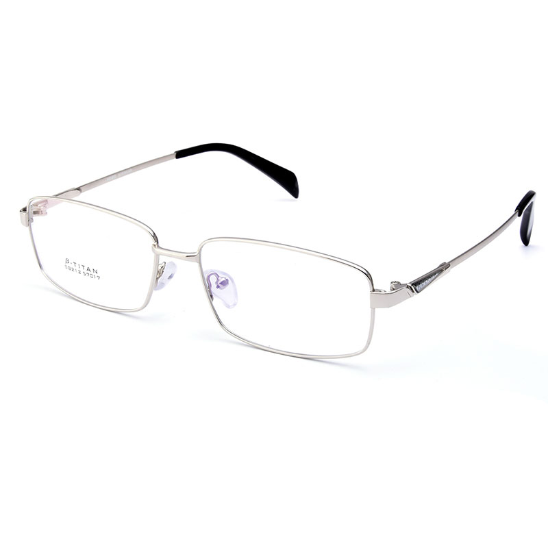 1c3ee9a1da Gmei Optical S8212 Alloy Metal Semi Rimless Eyeglasses Frame for Men  Prescription Optical Eyewear Glasses-in Eyewear Frames from Apparel  Accessories on ...