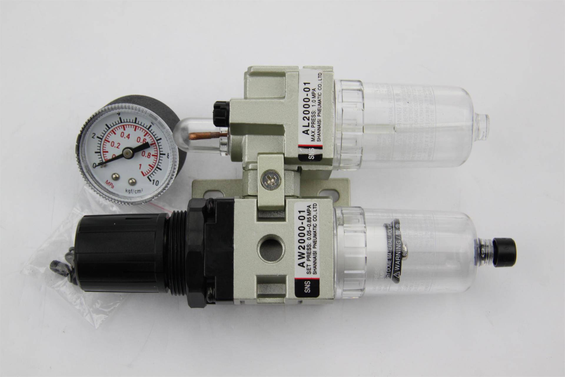 AC2010-01 1/8PT SMC manual drain type air filter SNS pneumatic components  gas source processor  two joint oil-water separator sy5120 3dze 01 sy5120 4dze 01 sy5120 5dze 01 sy5120 6dze 01 pneumatic components smc solenoid valve