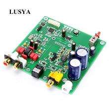 Lusya ES9038 Q2M I2S DSD Decoder Coaxial Faser eingang DAC decodierung bord Für hifi verstärker audio F7 003
