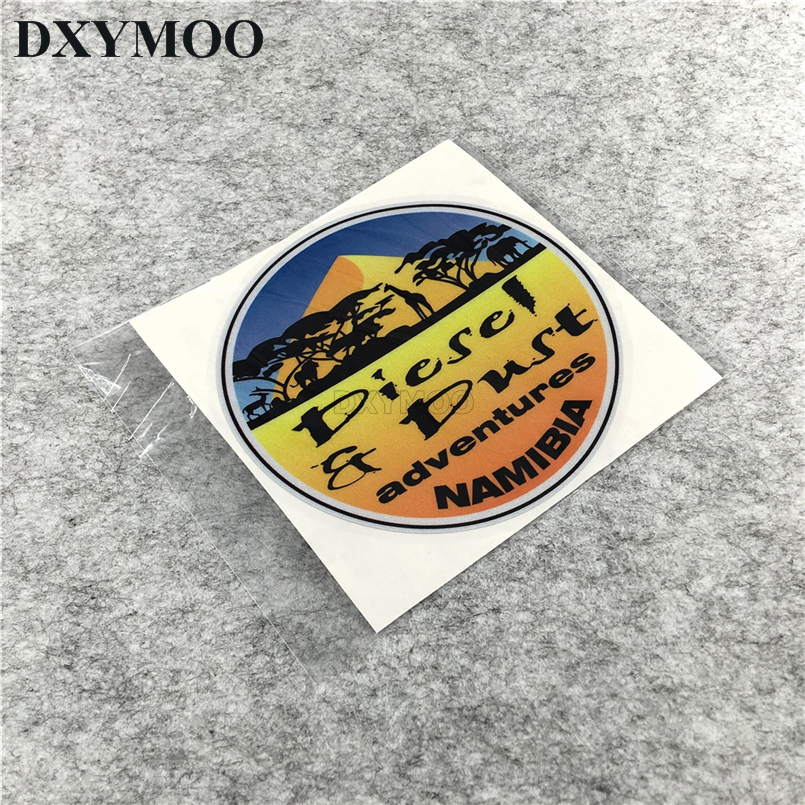 Car Styling Diesel Adventures ADV GS SUV SAHARA Stickers Scuba Dive Shark Fish Tank Decals Vinyl 12cm