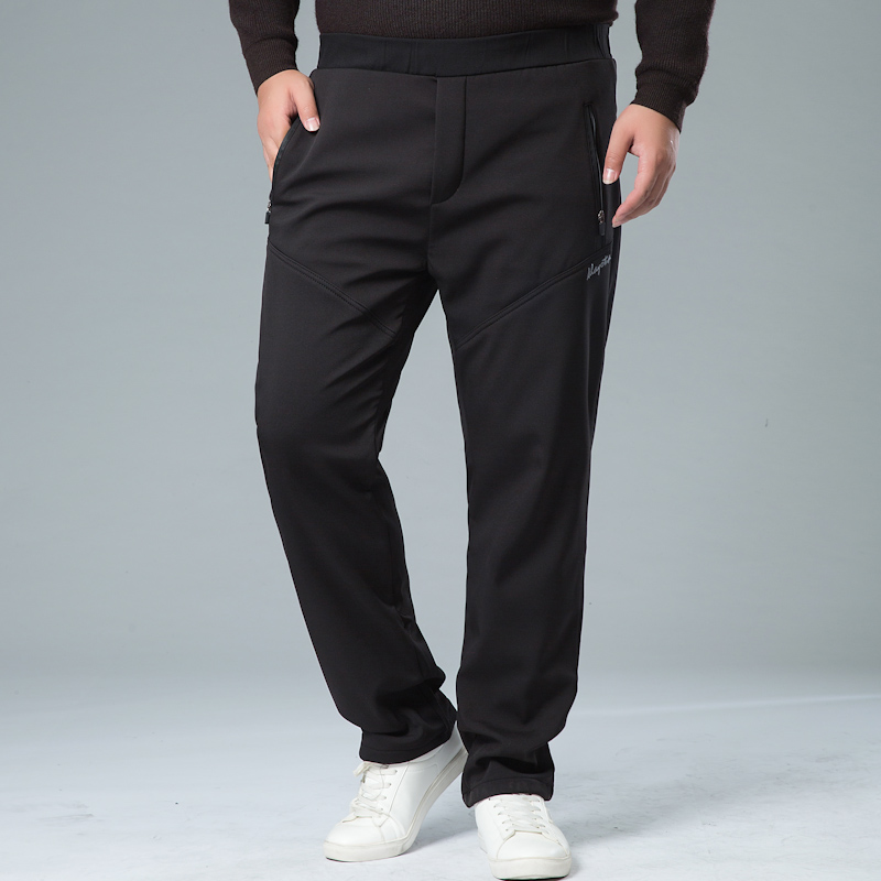 Mens Winter Pant Thick Warm Cargo Pants Casual Outwear Pockets Trousers Plus Size 8XL 7XL Fashion Loose Baggy Pant For Worker