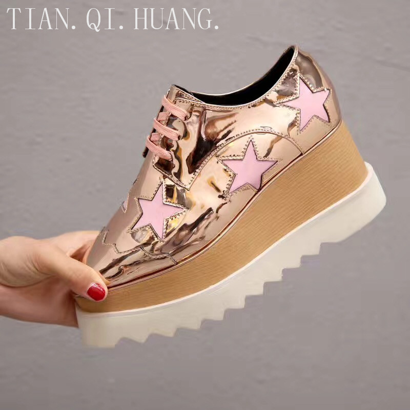 New Style Genuine Leather Casual Shoes Women New Styles Fashion Design High Quality Classics Shoes Woman
