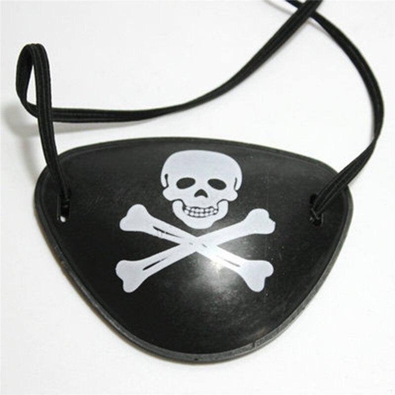 Halloween Party Stretch Bone Skeleton Shape Masks Festival Fancy Dress Pirate Costume Accessories For Men Women