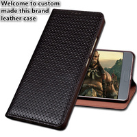 SS01 Genuine leather phone bag with kickstand for Huawei Y7 Prime phone case for Huawei Enjoy 7 Plus flip case
