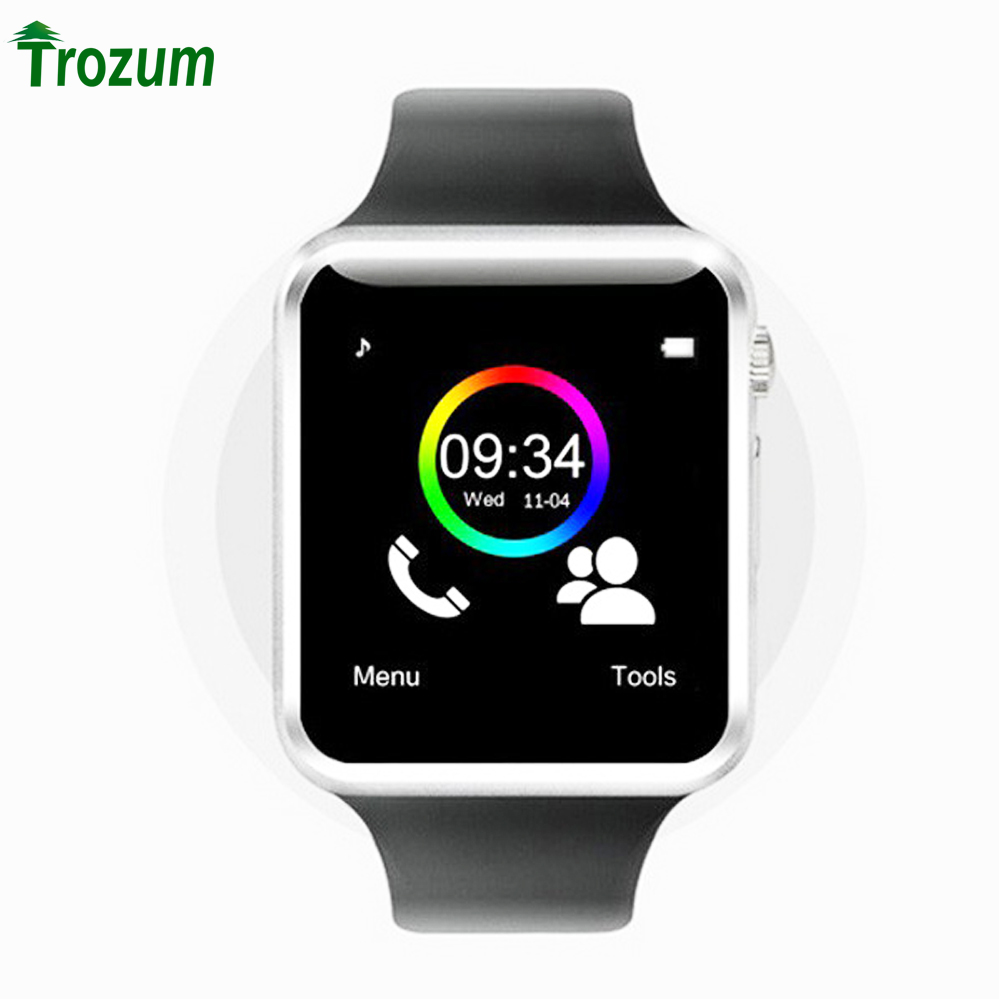 iphone wrist watch trozum bluetooth d1 smart wrist sport watches for 8803