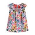 Vestido del Bebé del diseño creativo estilo floral vestido de la muchacha de partido ocasional SHXA006