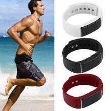 Bluetooth 4.0 Smart Wrist Bracelet Watch Band Sports Tracker Pedometer