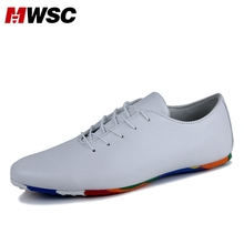 MWSC Italian Style Microfiber Leather Casual Shoes Designer Luxury Brand Men Lace-up Lazy Loafers Brand Derby Men Shoes