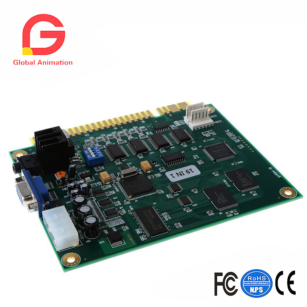 19 in 1 Horizontal Multicade Multigame Game Board PCB Circuit Board for Jamma Video Game 19 in 1 Horizontal Multicade Multigame Game Board PCB Circuit Board for Jamma Video Game