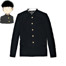 Mob Psycho 100 Mobu Saiko Hyaku Kageyama Shigeo косплей костюм черный Gakuran Костюмы Брюки S-4XL