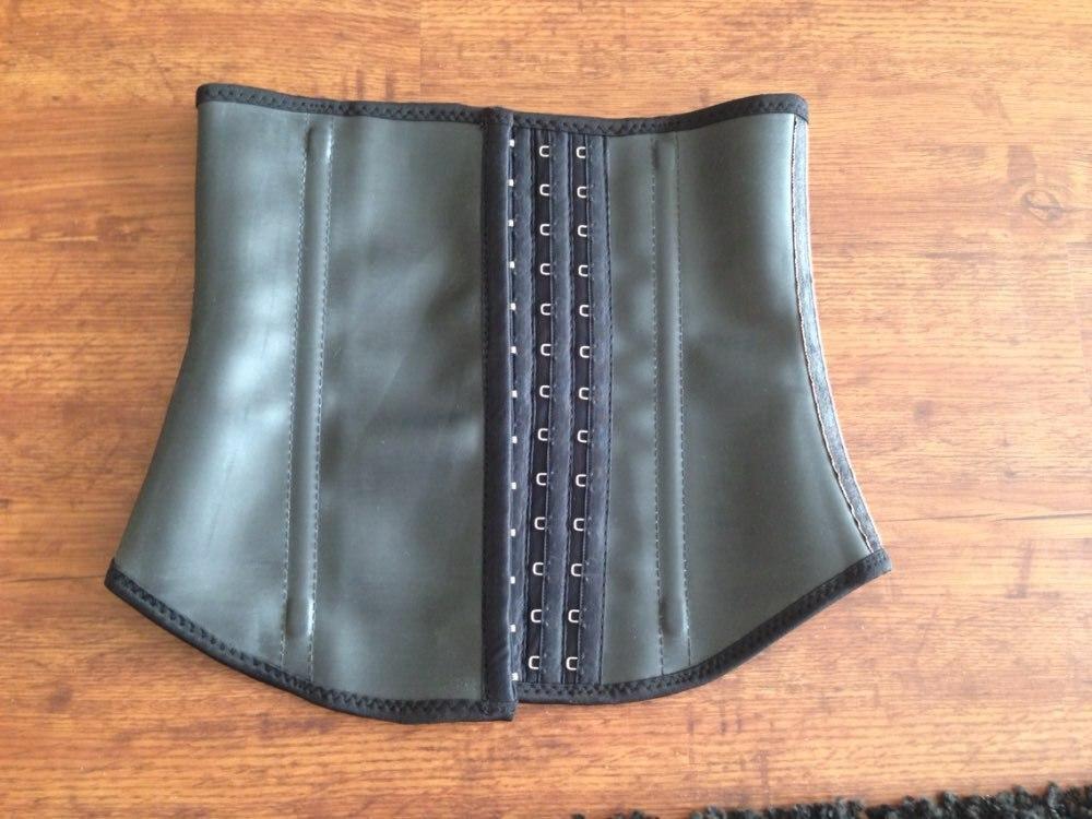 de3179996f Plus size High compression gym sport 100% latex waist trainer cincher  weight loss waist training corset girdles body shapers-in Bodysuits from  Underwear ...
