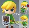 Envío libre La Leyenda de Zelda Enlace Juego Legend of Zelda Nendoroid Acción PVC Figure 10 CM Q Ver. de colección Modelo de Juguete Muñeca