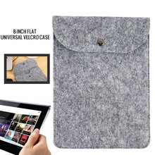 8/10.5 Inch Pure Color Universal Tablet Bag Tablet Sleeve Case for IPad 2018 air 1 Mini Huawei Samsung Shockproof Portable(China)