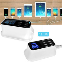 Smart USB Charging HUB 8 Port USB Charger Multi Port Desktop USB Charging Station for iPhone Samsung S10 M10 Huawei Mate 20X