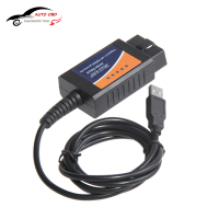 Factory Price OBD OBDII Scanner ELM 327 Car Diagnostic Interface Scan Tool ELM327 USB Supports All