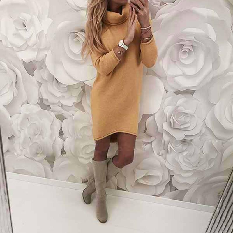 2018-Autumn-Winter-Women-Knitted-Sweater-Dresses-Turtleneck-Bodycon-Slim-Jumper-Vestido-Long-Causal-Pullover-WS5260C (4)
