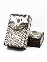 High Quality Hand made Snake Skin Cigarette Case Exquisite Gift