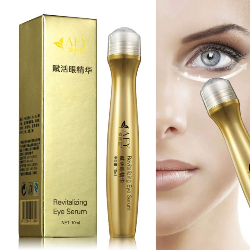 24K Golden Remove Dark Circle Wrinkle Collagen Firming Eye Cream Serum Repair Maquiagem For Dropshipping