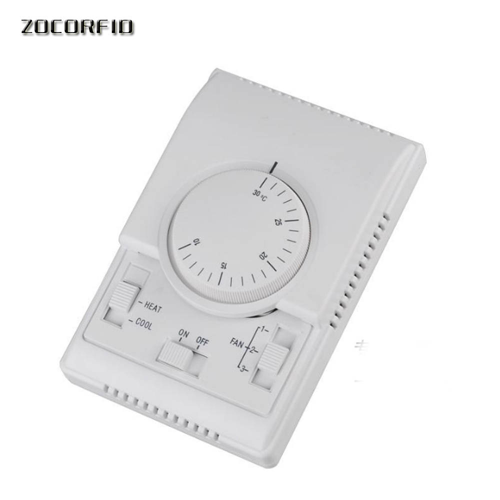 Floor Heating System Temperature Control Saipwell MRT107-W Central Air-condition House Room Mechanical Thermostat On/off Switch