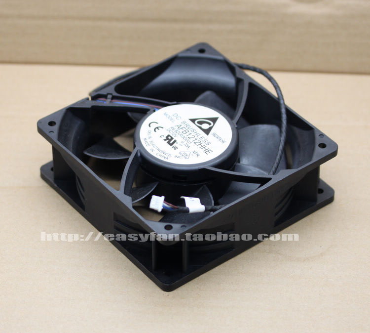Delta AFB1212HHE XFN DC 12V 0.70A 4-wire 4-pin connector 80x80x38mm Projector cooling fan delta ffb0824vhe 8038 dc 80 80 38mm dc 24v 0 25a 4200rpm 57 21cfm cooling fan